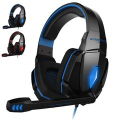G4000 Gaming Stereo Headset Headphone Earphones - Blue