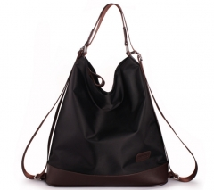 New shoulder bag diagonal package portable shoulder bag multifunctional bag fashion handbags black one size