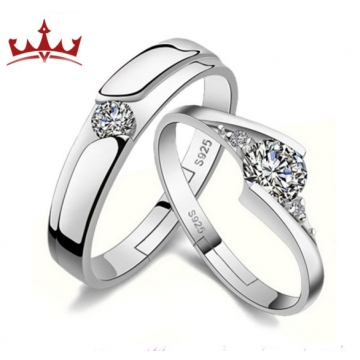 MR.S Couple rings open love couple ring against tenderness ring