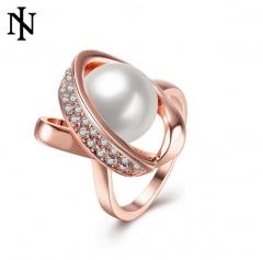MR.S Temperament ladies decorative ring rose gold diamond jewelry