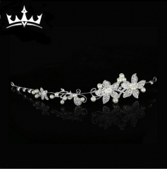 MR.S Rhinestone crown hair ornaments wedding dress accessories E-010