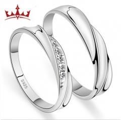 MR.S couple lovers creative diamond ring