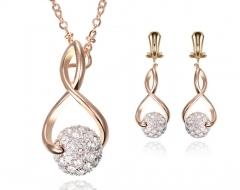 Jewelry set custom Shambhala necklace set as the picture one size