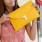Women Sinple Shoulder Bag yellow one size