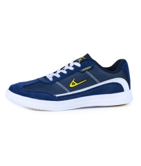 ADZA Romeo Trendy Fashionable Unique Tough Sole  Fashion Sneaker Men Shoes Navy Blue AD-34-41