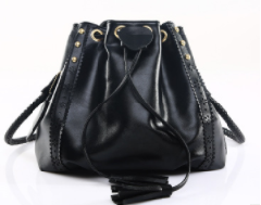 New Designer Women Handbags Leather Shoulder Bags Female Fashion Larger Capacity Bags black one size