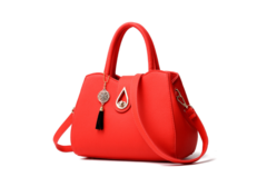Ladies Vintage European Handbags Small Messenger Bags Lock Handbags Luxury Female Shoulder Bags red one size