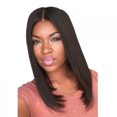 Woman  long straight shawl wig  Straight hair  as picture DV67z3 375 as picture one size