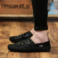 2017 British style Men Shoes, High Quality Men Casual Shoes, Comfortable Men Loafers Shoes black 42