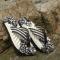 Casual Plaid Stripes Men Sandals Slippers Summer Fashion Men Outdoor Casual Beach Shoes Flip flops brown 43
