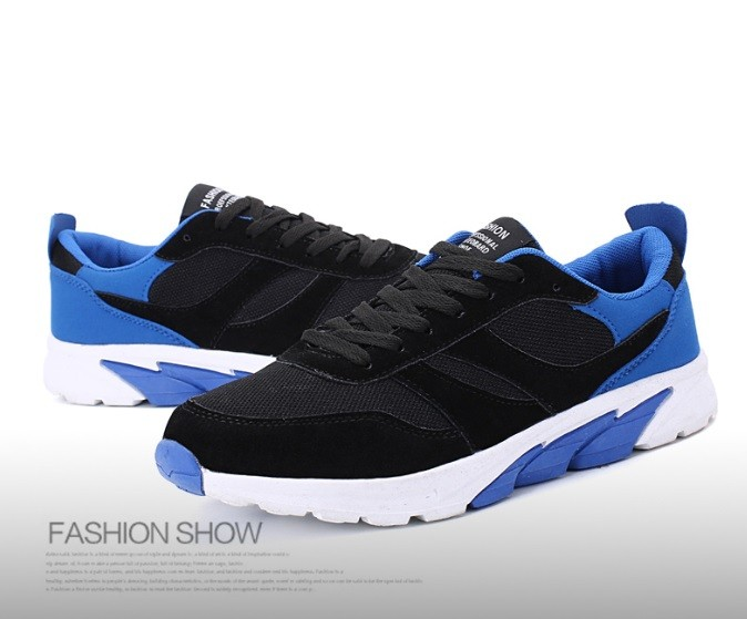 5 Colores Men Brand Sports Shoes Casual Shoes Mens Trainers Breathable Shoes Running blue 40
