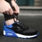 2017 Mens Running Shoes Breathable Male Outdoor Walking Sport Shoes New Man Athletic Sport Sneakers blue 44