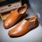 2017 Men Chelsea Shoes Autumn Shoes Chelsea Boots  Men's Casual Shoes Brand Ankle Boots Male brown 41
