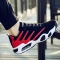 Professinal Men air cushion Basketball Sport Running Shoes Breathable Comfortable Athletic shoes red 40