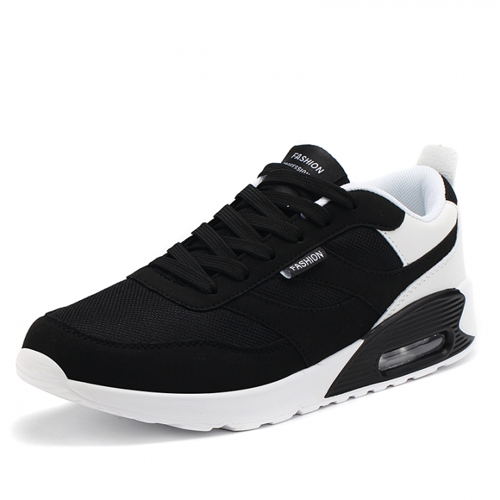 New Spring Autumn Running Cushion Shoes For Outdoor Comfortable Men Trianers Sneaker Sport Shoes black 41