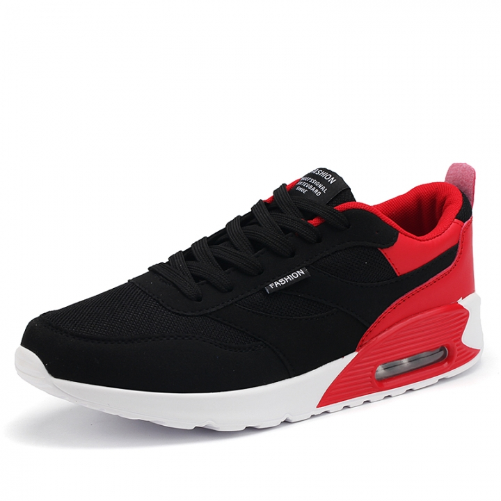 New Spring Autumn Running Cushion Shoes For Outdoor Comfortable Men Trianers Sneaker Sport Shoes red 44