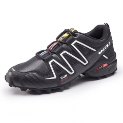 Waterproof Mens Hiking Shoes Outdoor Trekking Camping Shoes Moutain Non-Slip Men's Hiking Sneakers black 46