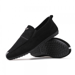 Men Shoes 2017 NEW Loafers Summer Cool Autumn Flats Shoes Low Man Casual black 39