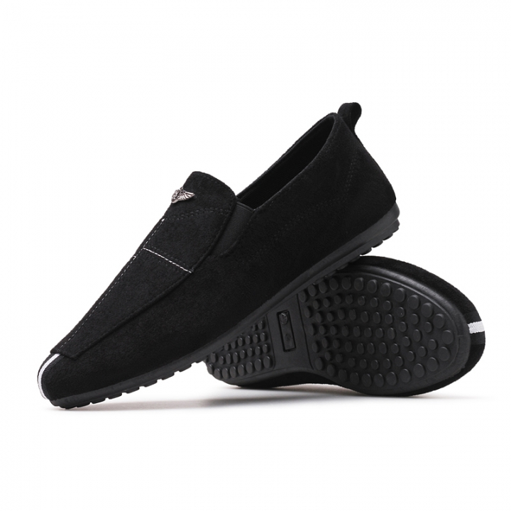 Men Shoes 2017 NEW Loafers Summer Cool Autumn Flats Shoes Low Man Casual black 40
