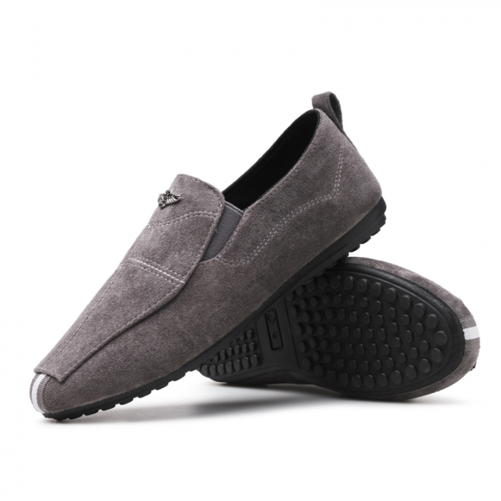 Men Shoes 2017 NEW Loafers Summer Cool Autumn Flats Shoes Low Man Casual grey 44