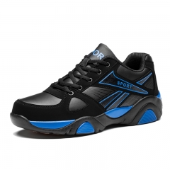 Sneakers Basketball Shoes Men Outdoor Sports Breathable Training Basket Athletic Shoes blue 39