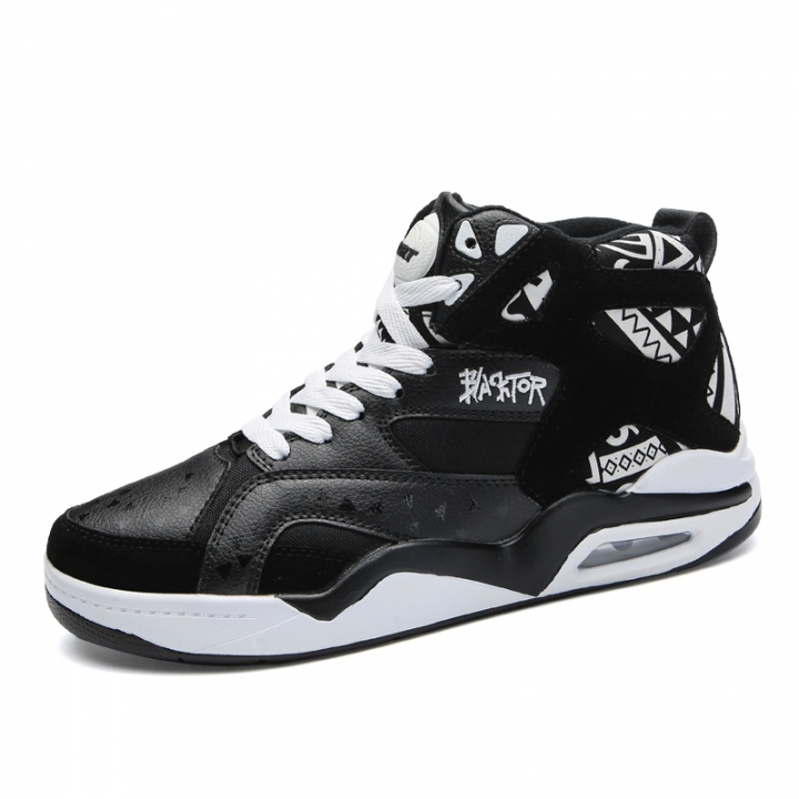 Big Size Professional Men Basketball Shoes Sport Sneakers Outdoor Basket Running Shoes black 46