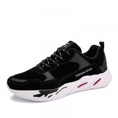 Athletic Running Shoes New Men Sneakers Man Outdoor Sports Flat Run Walking Jogging Trendy black 39