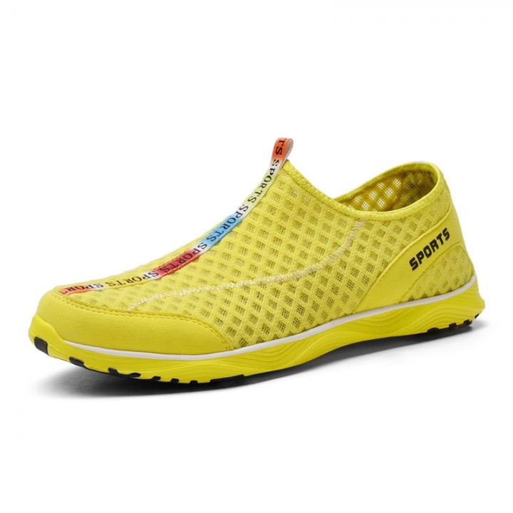 dfbfd945e911 Aqua Shoes Ultra-light Quick-drying Beach Water River Walking Summer Men Breathable  Hiking