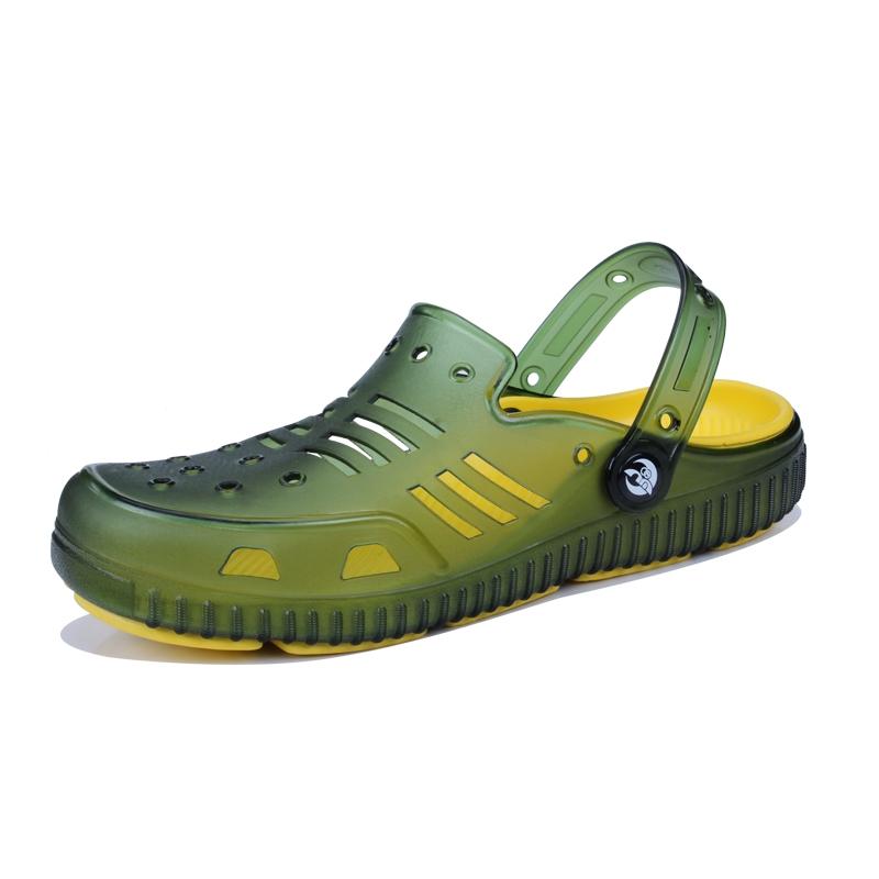 67922df1e Clogs Men Beach Slippers Summer Rubber Sandals Hole Shoes Mules Flip Flops  Pantufas Slide Shoes green 41  Product No  1287261. Item specifics  Brand