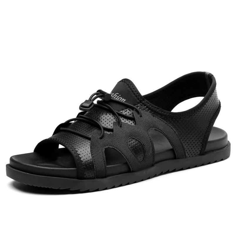 7bbac18797c99d ... Shoes Classic Open Toe Handmade Cow Leather Mens Sandals black 38   Product No  1377452. Item specifics  Brand