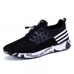 Big Size 39-46 Men Tennis Shoes Lightweight Brand Sports Shoes For Men Good Quality Summer Sneaker black 39