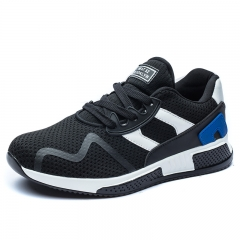 Luxury Brand Cool Outdoor Walking Shoes Soft Mesh Men Sport Shoes Summer Casual Sneakers Athletic blue 39