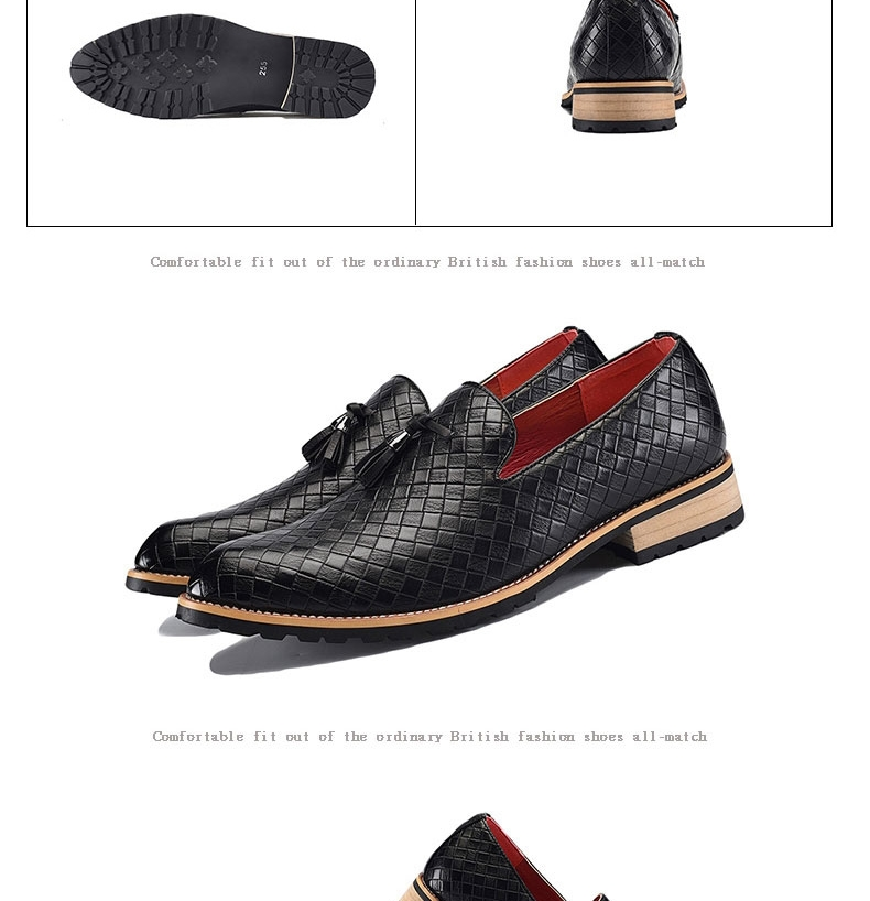 Kilimall  Retro Men Dress Shoes Pointed Toe Oxfords Business Office ... b1f49c200cfd