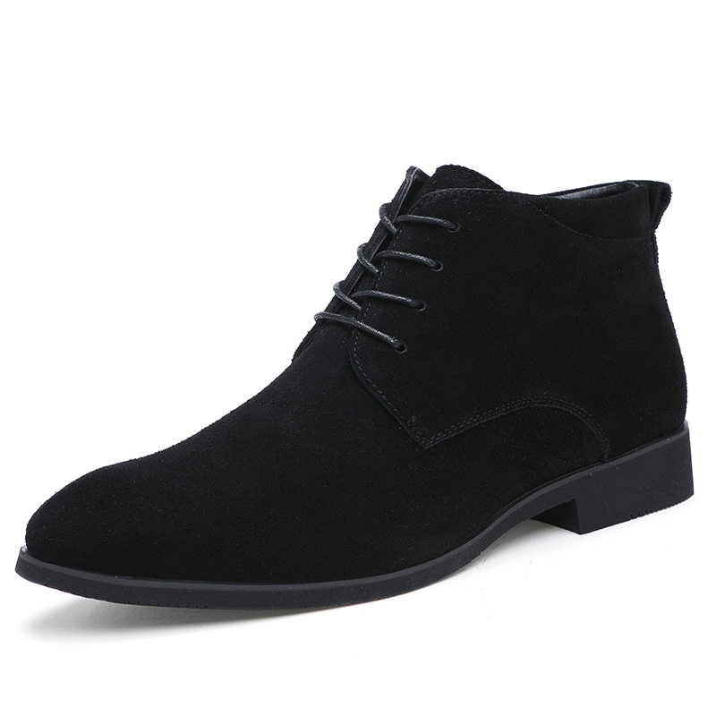 69217aaea1a Winter Men Boots Vintage Casual Men Shoes High Tops Lace-Up Warm Desert Boots  Good Quality black 39  Product No  1946383. Item specifics  Brand