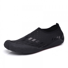 New Summer Men Water Shoes Outdoor Swimming Shoes Beach Quick Drying black 39