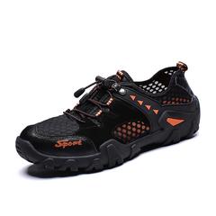 Lightweight Men Hiking Shoes Climbing Waterproof Outdoor Trekking Leather black 39