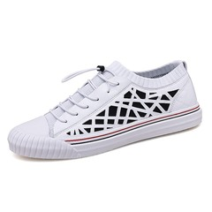 Summer Comfortable Fashion Hip Hop Shoes Casual Sneakers Cool Young Student black 39