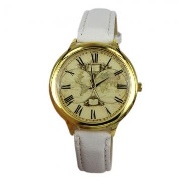 free shipping hot sale quartz watch 100% brand new GENEVA WATCH no logo men women fashion watches white white