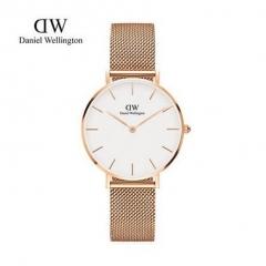 RENOS DW Quartz Watchwrist Women Top Luxury Brand Fashion Stainless Steel Watches Gift Watch Gold white