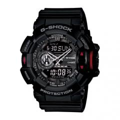Casio G-Shock GA-400-1B Multi-Dimensional Analog Digital Watch black one size