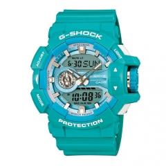 Casio G Shock GA-400A-2AER G-Shock Uhr Watch Montre Orologio blue one size