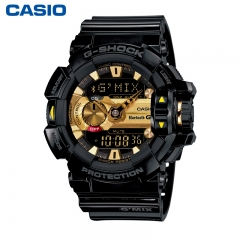 Casio G-Shock GBA-400 Multi-Dimensional Analog Digital Watch gold one size