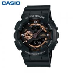 Casio G-Shock GA110RG-1A Series Dial Multi-Dimensional Analog Digital Men's Watch black one size