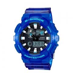 Casio G-Shock GAX100A Series Dial Multi-Dimensional Analog Digital Men's Watch blue one size
