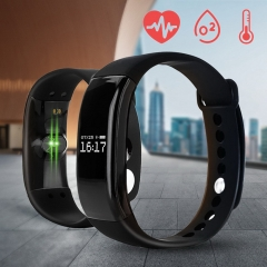 V66 Bluetooth Watch Sport Waterproof Smart Watch Fitness Monitoring Smart Bracelet for IOS Android black 26cm