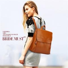 Korean Style Retro Women Backpack Fashion Ladies Outdoor Travel Shoulders Bag Girls School Bag blue one size