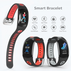 Multifunction Smart Bracelet Heart Rate Smart Watch Sport Monitoring Colorful Screen Smart Wristband black one size