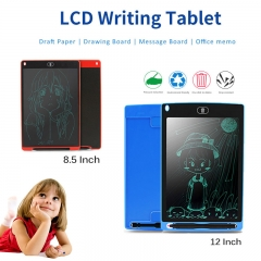 Digital Portable 8.5/12 Inch Mini LCD Writing Tablet Drawing Board for Adults Kids red 8.5 inch