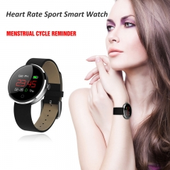 Large Screen Smart Watch Sport Monitoring Bluetooth Watch Fitness Tracker Smartwatch for IOS Android black one size