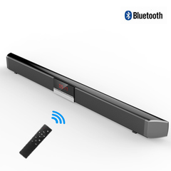 40W 3D Surround TV Speaker Powerful Home Theater Soundbar with Remote Control black SR-100